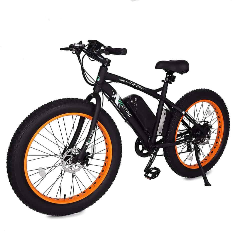 Ecotric flat bike for beach