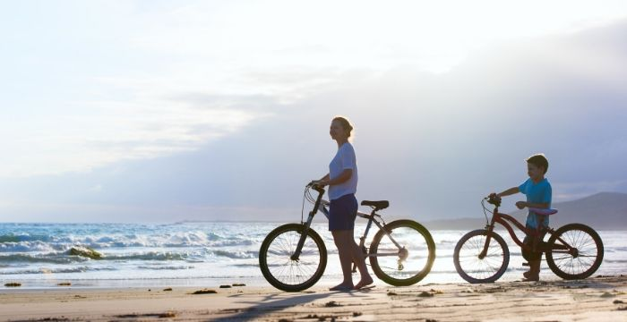 Basic Tips for Riding a Bike on the Beach